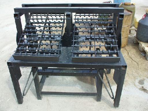 Расформовочный стол для тротуарной плитки